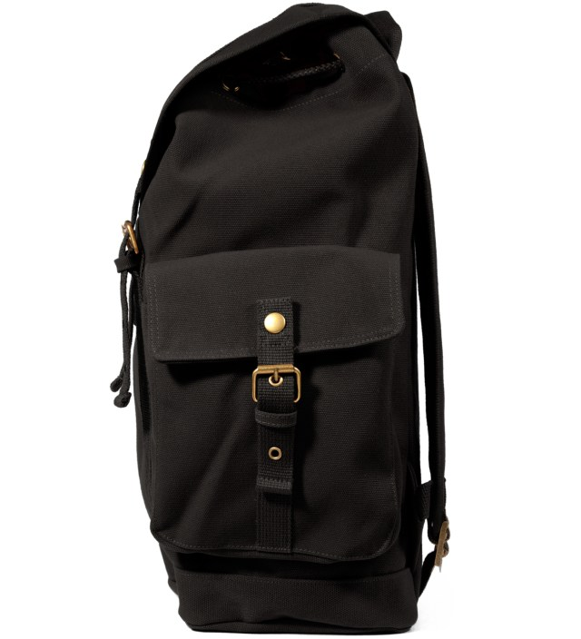 Black Tramp Backpack