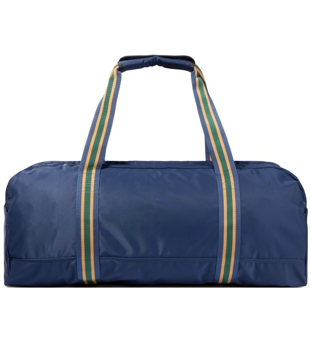 Navy Boston Bag (L)