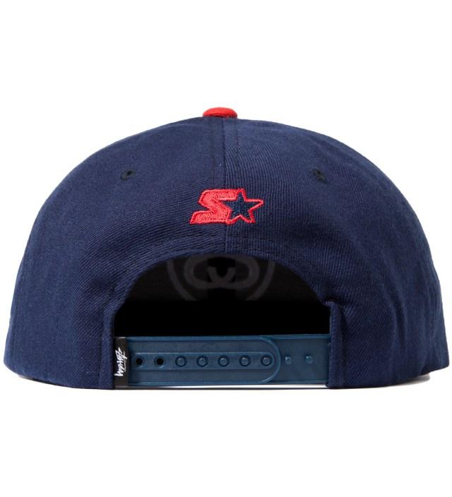 Navy SS Link Starter Ballcap