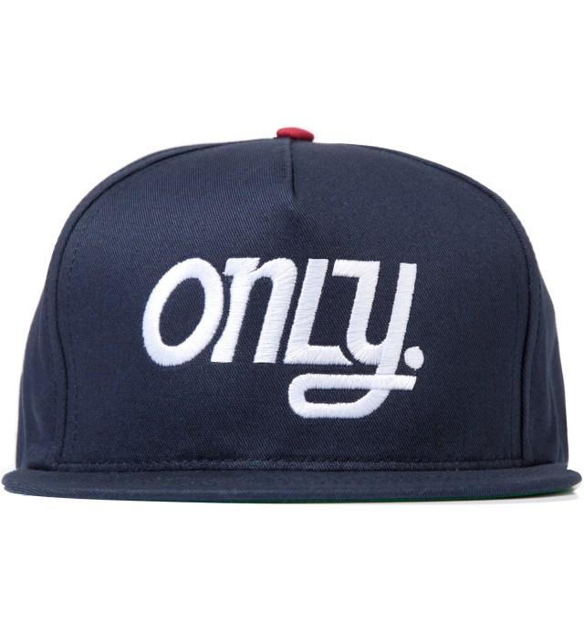 Navy OTB Snapback Cap