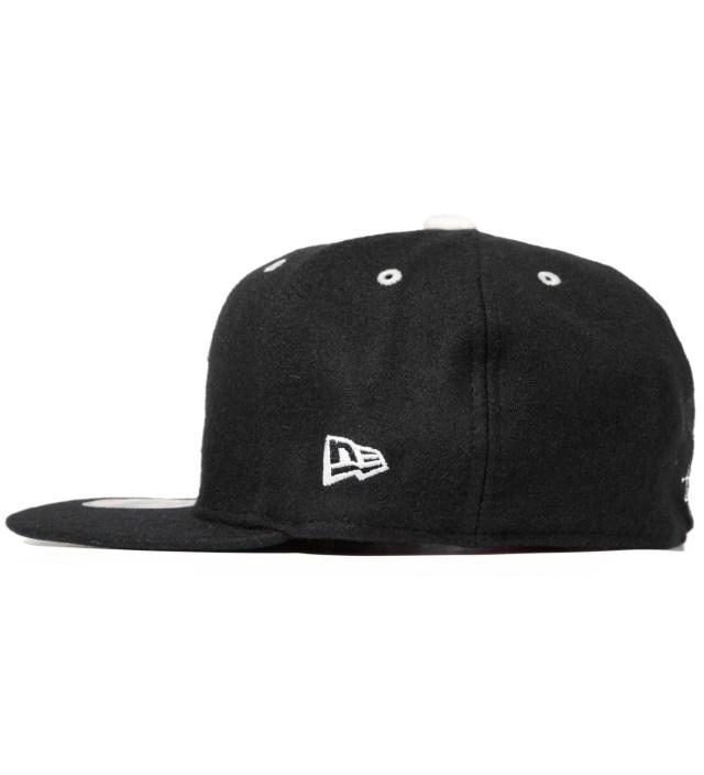 Black Melton Old S New Era Cap