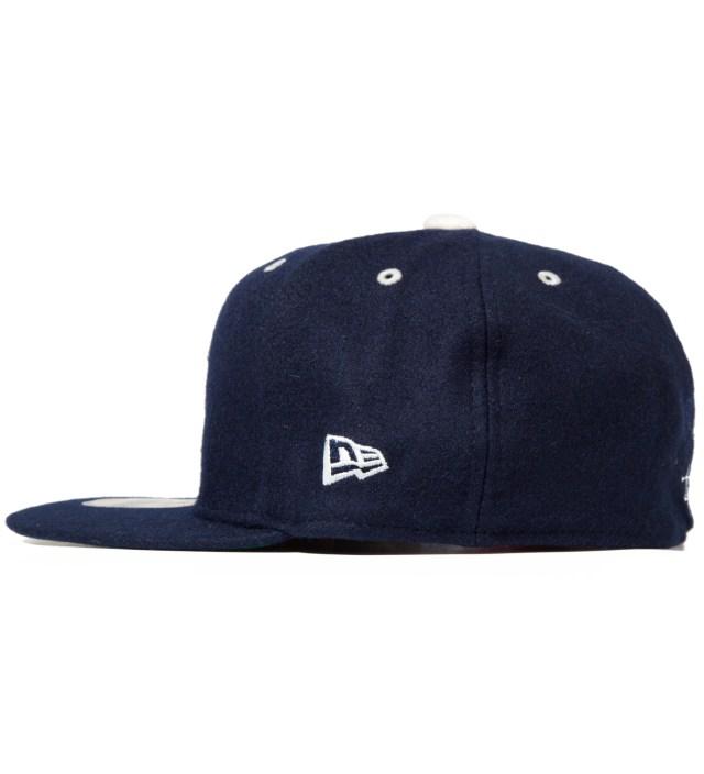Navy Melton Old S New Era Cap