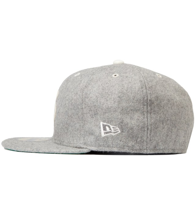 Heather Grey Melton Old S New Era Cap