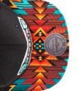 San Antonio Spurs Teal Navajo Strap-Back Cap