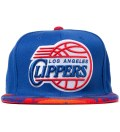 Los Angeles Clippers Blue Navajo Strap-Back Cap