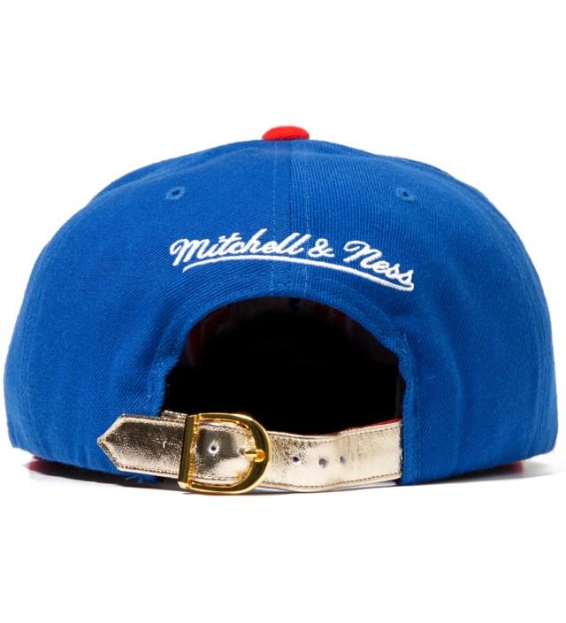 Los Angeles Clippers Blue Navajo Strap-Back Cap