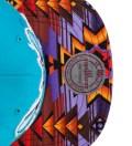 Charlotte Hornets Purple Navajo Strap-Back Cap