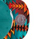 Teal Miami Dolphins Teal Navajo Strap-Back Cap