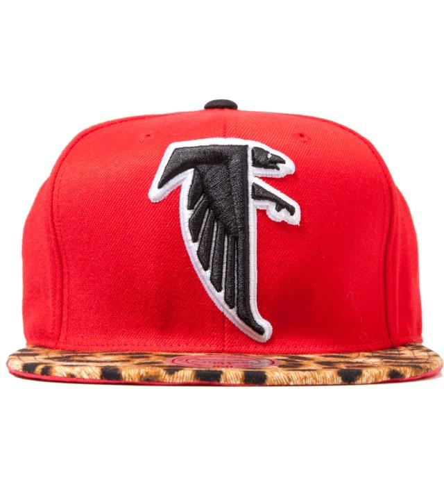 Atlanta Falcons Cheetah Strap-Back Cap