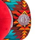 San Francisco 49ers Teal Navajo Strap-Back Cap