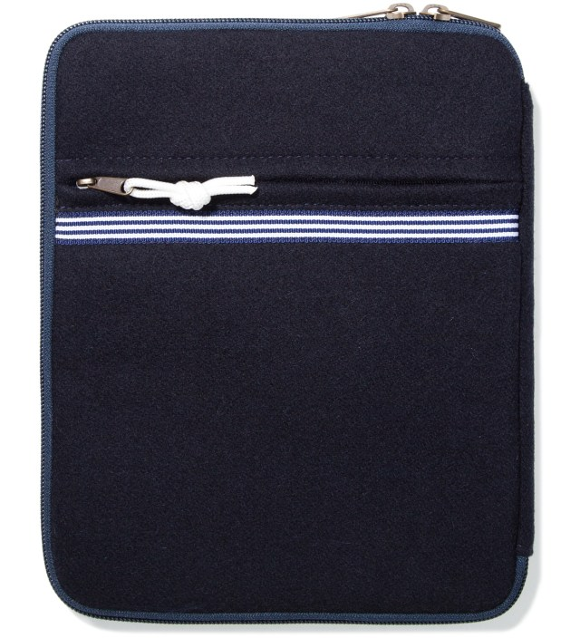 Head Porter x Dr. Romanelli Black iPad Peacoat Case