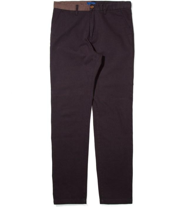 Dark Navy Langage Pants