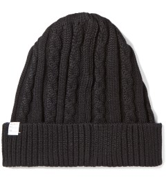 Deluxe Black Feather Beanie Picutre