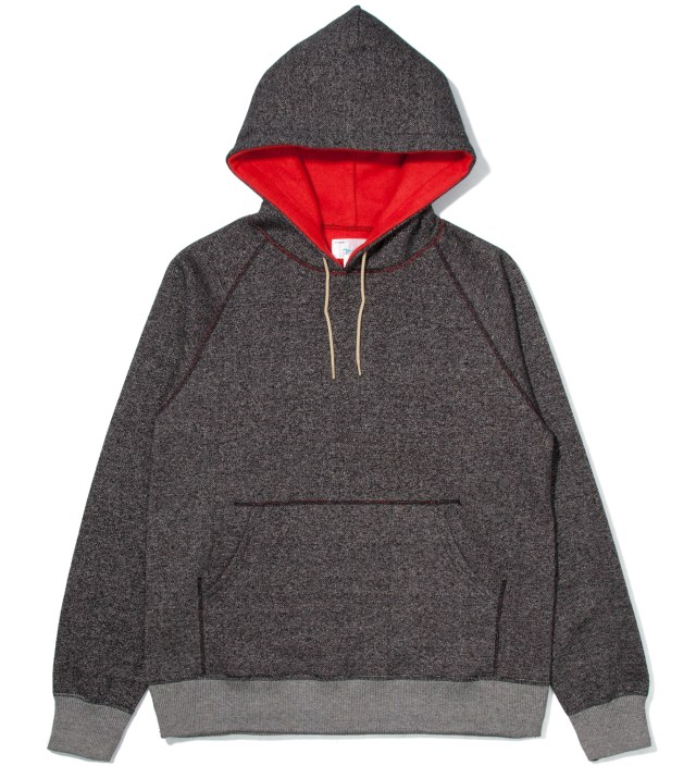 Charcoal Reversible Pullover Parka