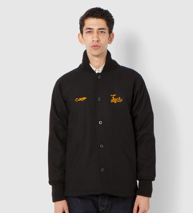 FUCT x COOP Black Stadium Jacket