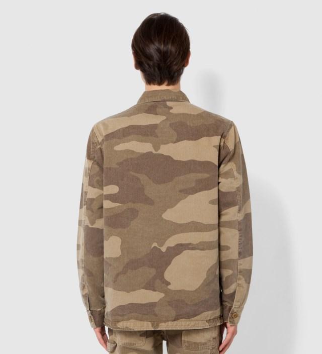 Khaki Camo Alpha Jacket