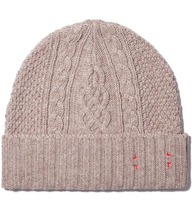 Beige Knit Cap