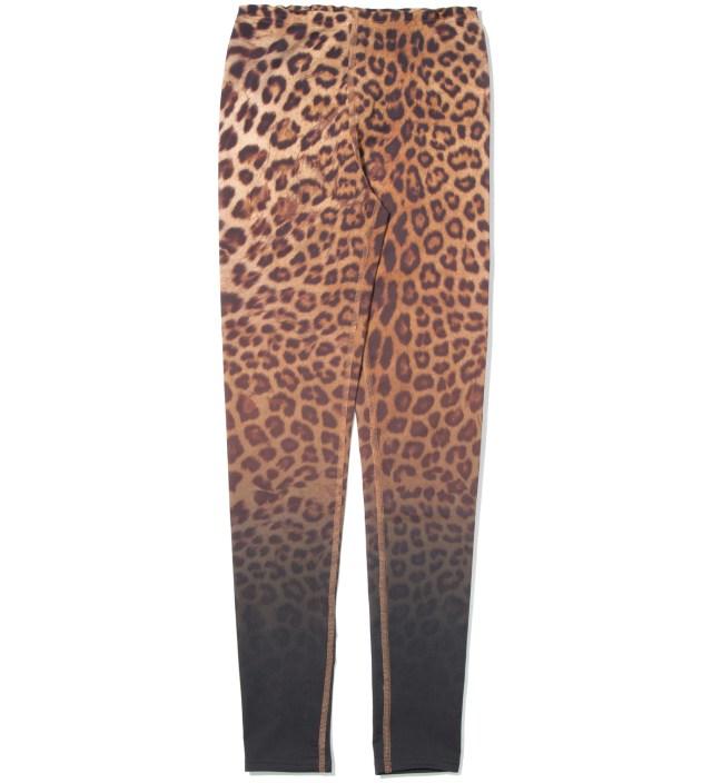 Yellow Leopard Leggings