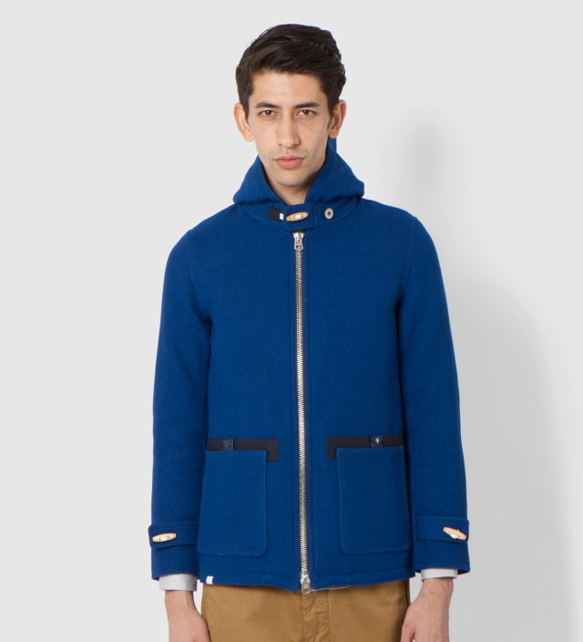 Blue Long Journey Jacket