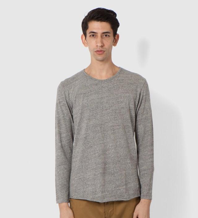 Heather Grey Long Sleeve T-Shirt
