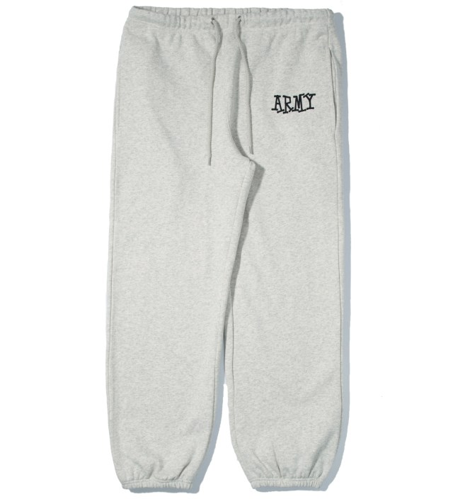 Heather Grey Army Sweatpants