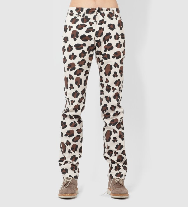 Leopard Animal Chino Pant