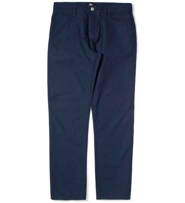Navy Reverse Twill 5 Pocket Pants