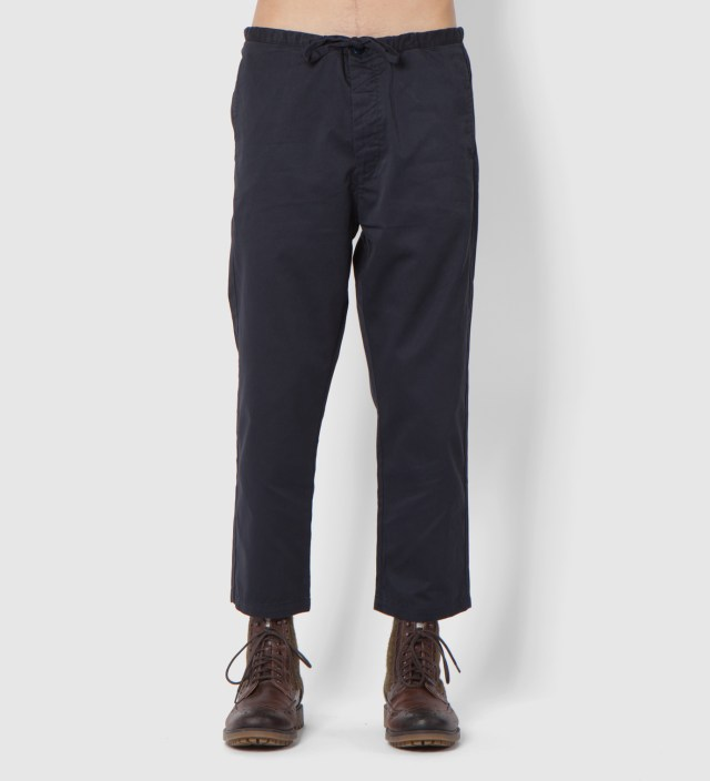 Navy Cropped Pants