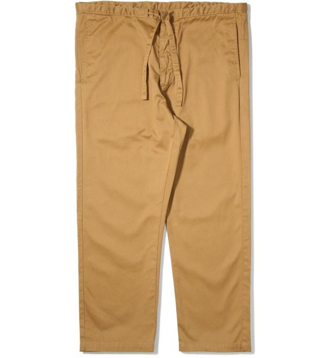 Khaki Cropped Pants