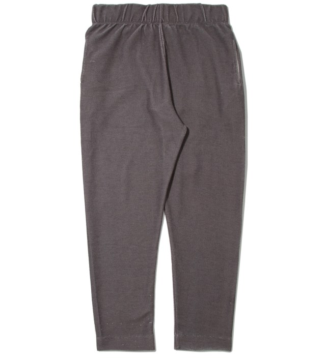 Black Plain Black Sweat Pants