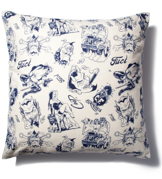 FUCT x COOP Off White Pillow