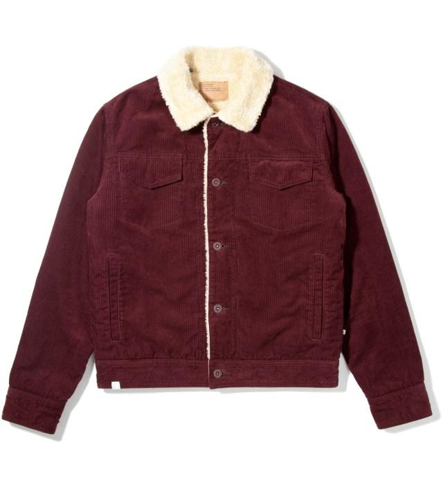 Burgundy Rogue Jacket