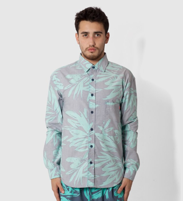 Blue Foliage Shirt