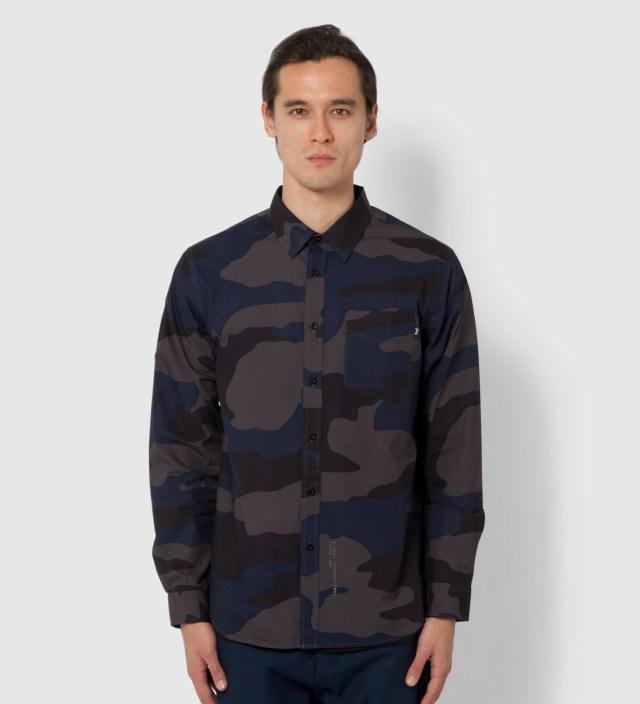 Grey Storm Camo Shirt