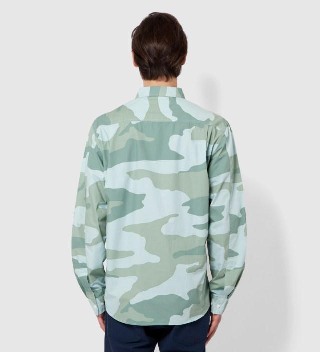 Blue Storm Camo Shirt