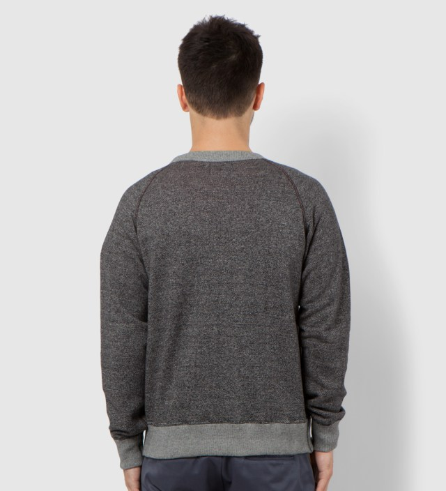 Charcoal Reversible Sweater