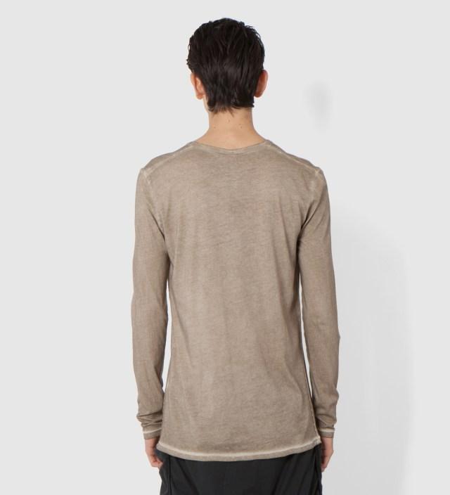 Light Brown Tanta Basic Long Sleeve T-Shirt