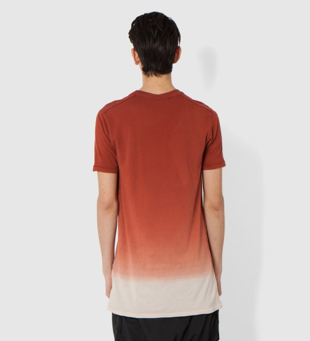 Rust Toba Oval Neck T-Shirt