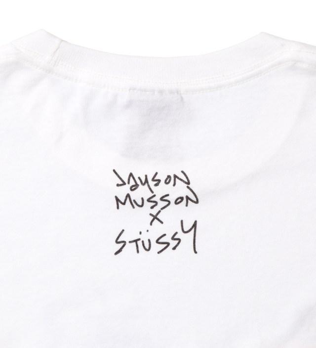 White Skateboard Stack T-Shirt