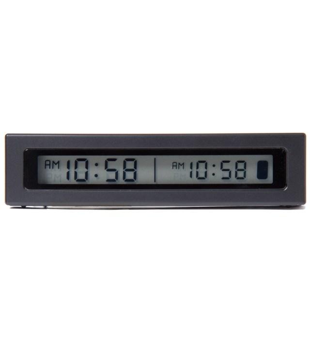 Black Jetlag Travel Alarm Clock