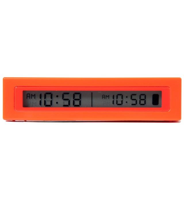 Red Jetlag Travel Alarm Clock