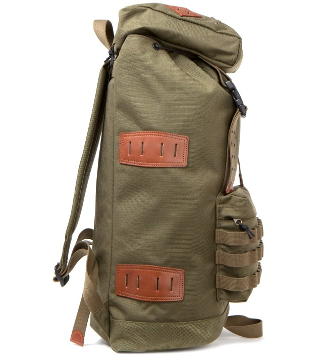 Head Porter x Dr. Romanelli Military Green Jungle Rumble Rucksack
