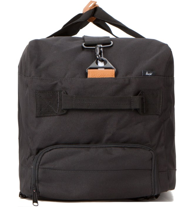 Black Outfitter Travel Bag
