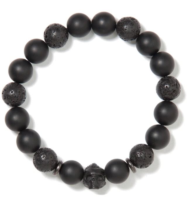 Black and Black DS- Beaded Bracelet