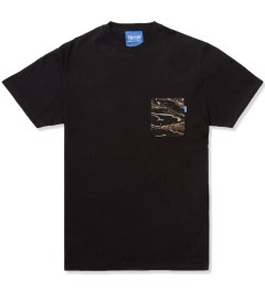 Tantum Black Asian Tiger Stripe Camo T- Shirt Picutre