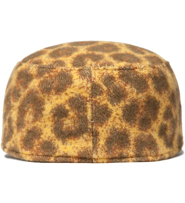 Yellow Leopard Work Cap