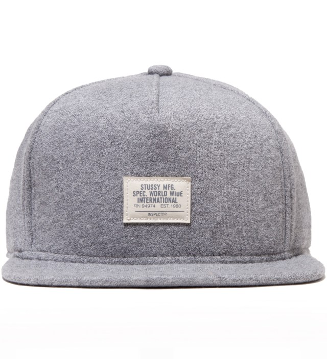 Grey Heather Training Day Fleece Ballcap