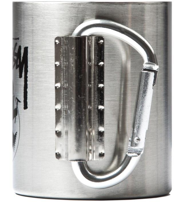 Silver Outdoor Man Carabiner Mug