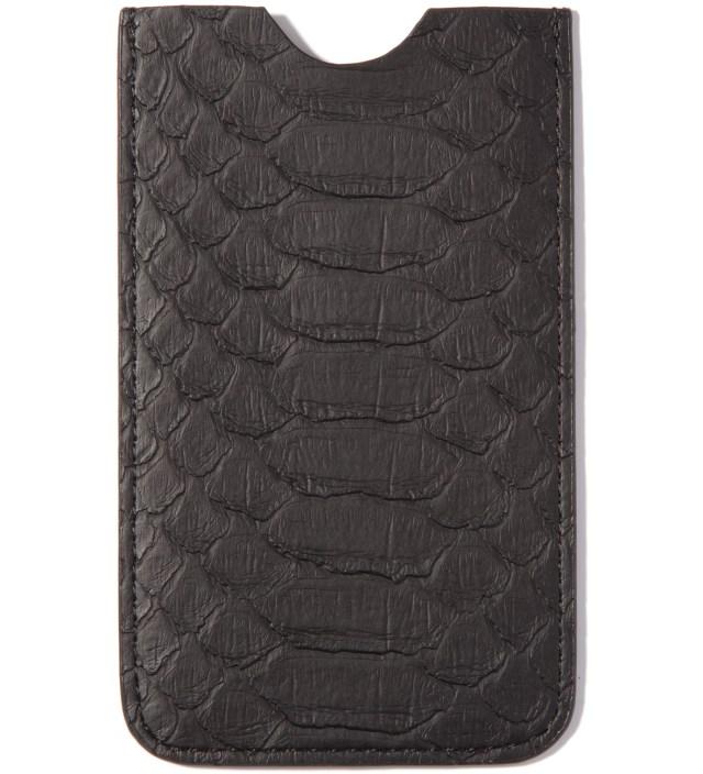 Stevin Gold x Mister Black Snakeskin Iphone Case