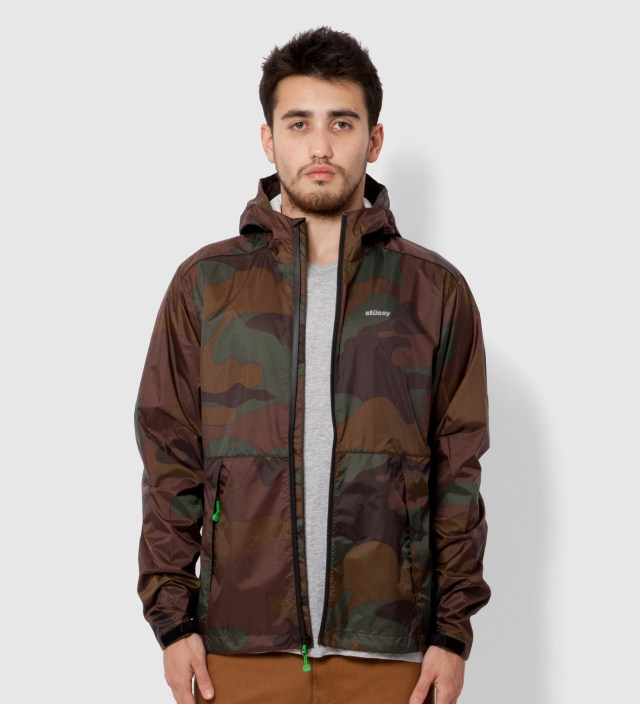 Brown Pinnacle Tech Hood Jacket